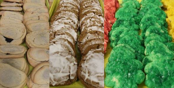 This is an Image of Cookies from the Bakery in Nevis Minnesota