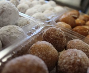 Stop in Friday in Nevis MN for Donut Holes